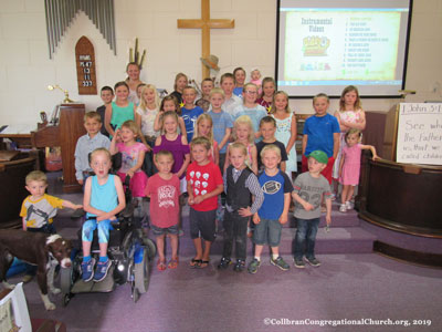Vacation Bible School Presentaion 2019 at Collbran Congregational Church